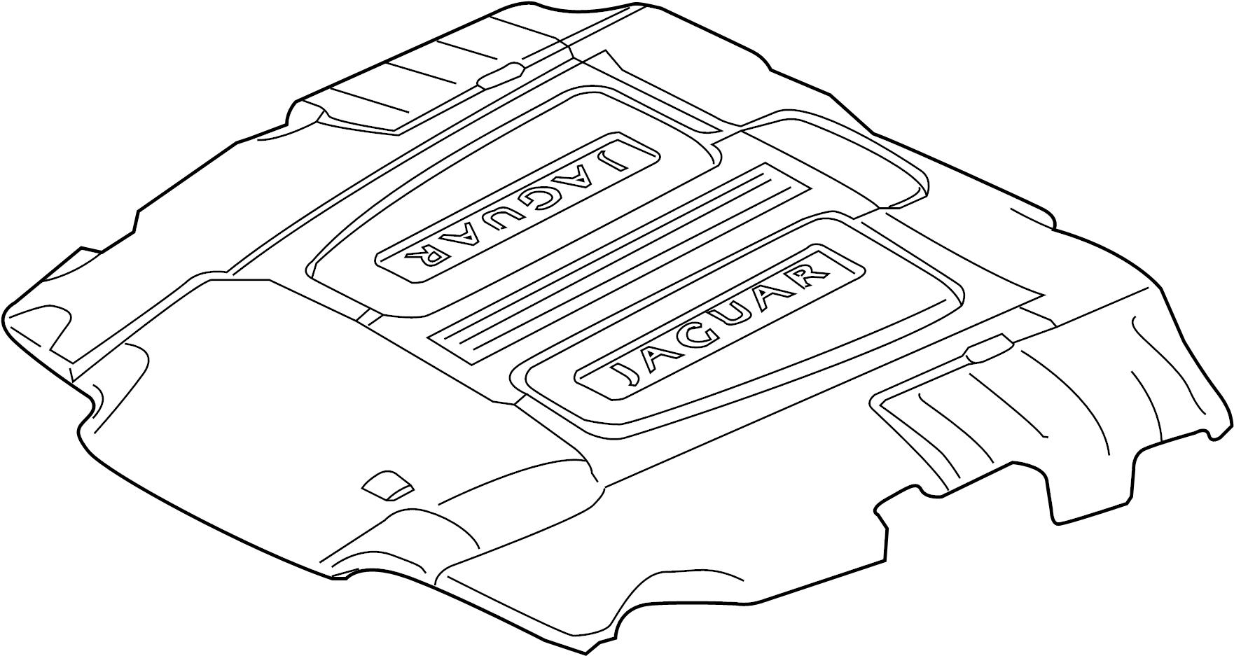 Jaguar Xf Cover Engine