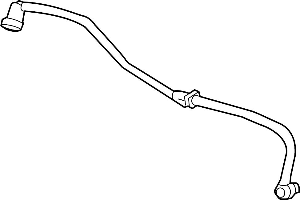 Jaguar XF Pipe-vacuum. Vacuum tube. 4.2 liter, w/o