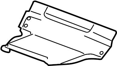 Jaguar XF Seat Frame Trim Panel (Front, Lower). Left