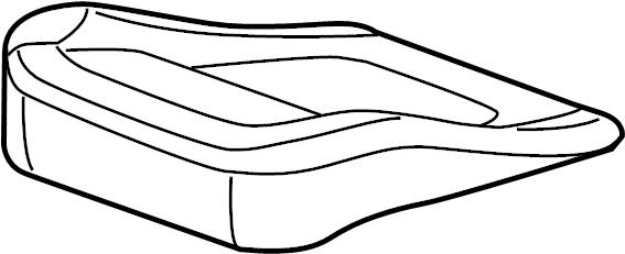 Jaguar XF Seat Cover. PORTFOLIO, Cushion, FRONT
