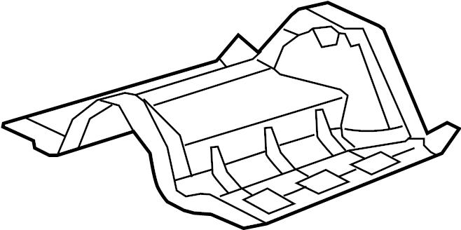 Jaguar XF Fuel Tank Shield. COMPONENTS, Heat, SYSTEM