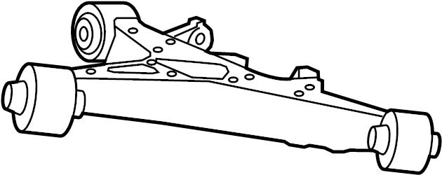 Jaguar XFR-S Suspension Control Arm (Rear, Lower