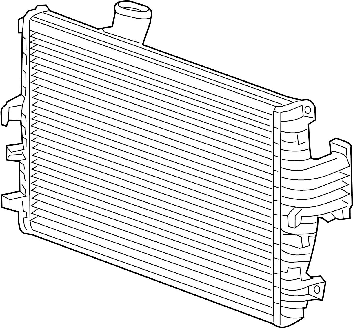 Jaguar Xf Outlet Duct Gasket Turbocharger Intercooler