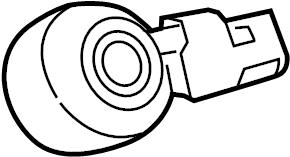 Jaguar XJR Ignition Knock (Detonation) Sensor. LITER