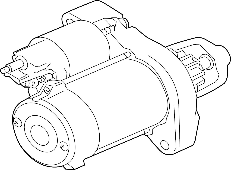 Jaguar F-Pace Starter Motor. StartStop, WStartStop