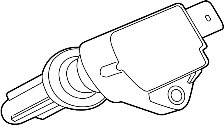 Jaguar XJR Direct Ignition Coil. LITER, Plug, Series