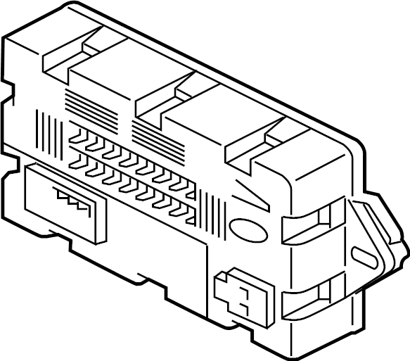 Jaguar XF FuseBOX. Junction block. 2014-17. A component