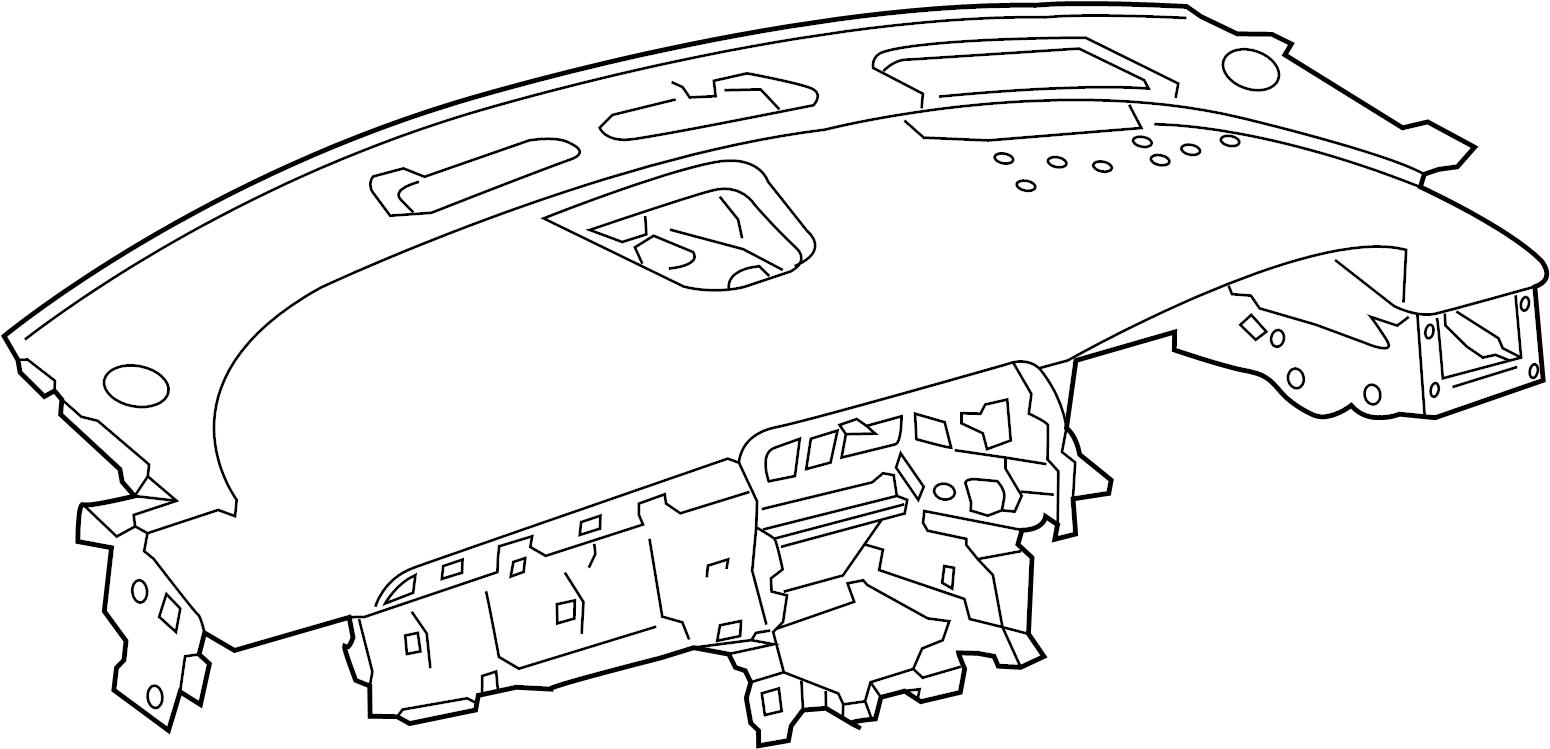 Jaguar XF Dashboard Panel. Leatherette, Make, Stitch