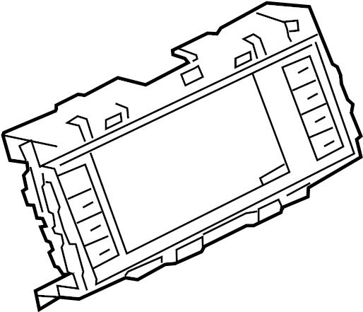 Jaguar XF Radio Module Interface. W/o perpendicular park