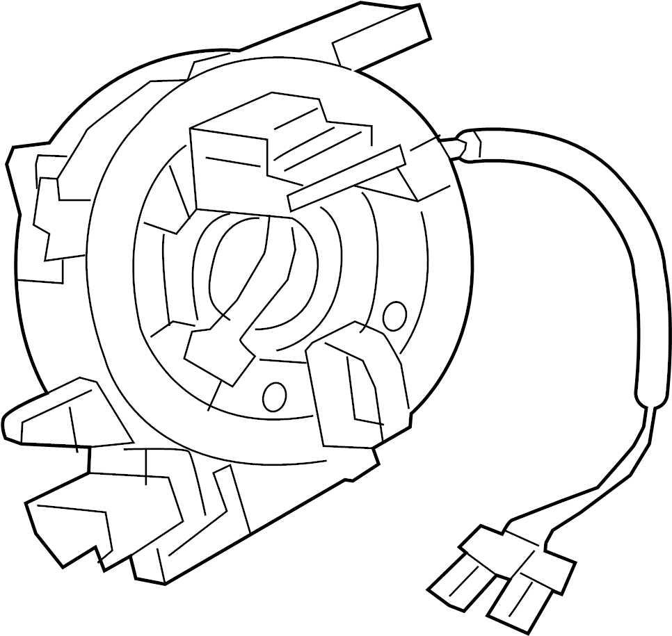 Jaguar XF Clockspring. Steering Sensor Assembly. Series