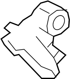 Jaguar XJ Air Bag Impact Sensor. SENSORS, MODULES, Pillar