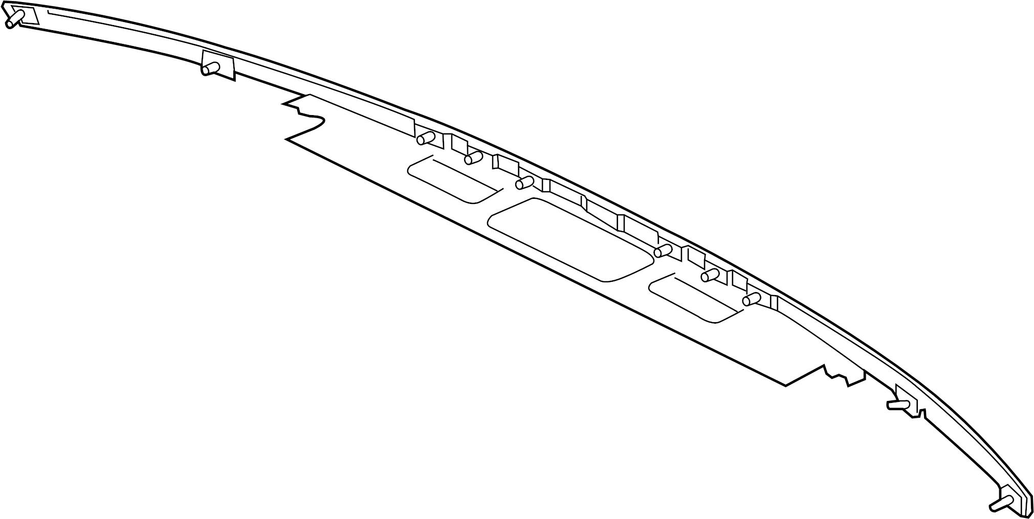 Jaguar Xf Moulding