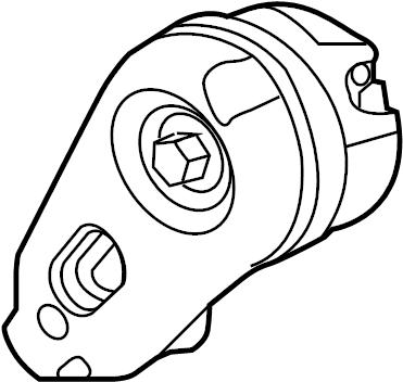 Jaguar F-Type Tensioner. Pulley. Belt. Drive. SUPERCHARGER