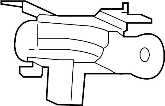 Jaguar F-Pace Suspension Yaw Sensor. Accelerometer