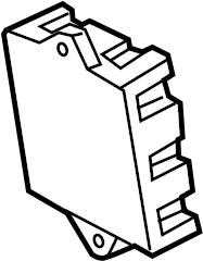 Jaguar XF FuseBOX. Junction block. 2014-17. A component