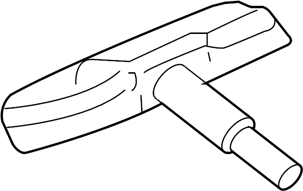 Jaguar XF Tire Pressure Monitoring System Sensor. VIN