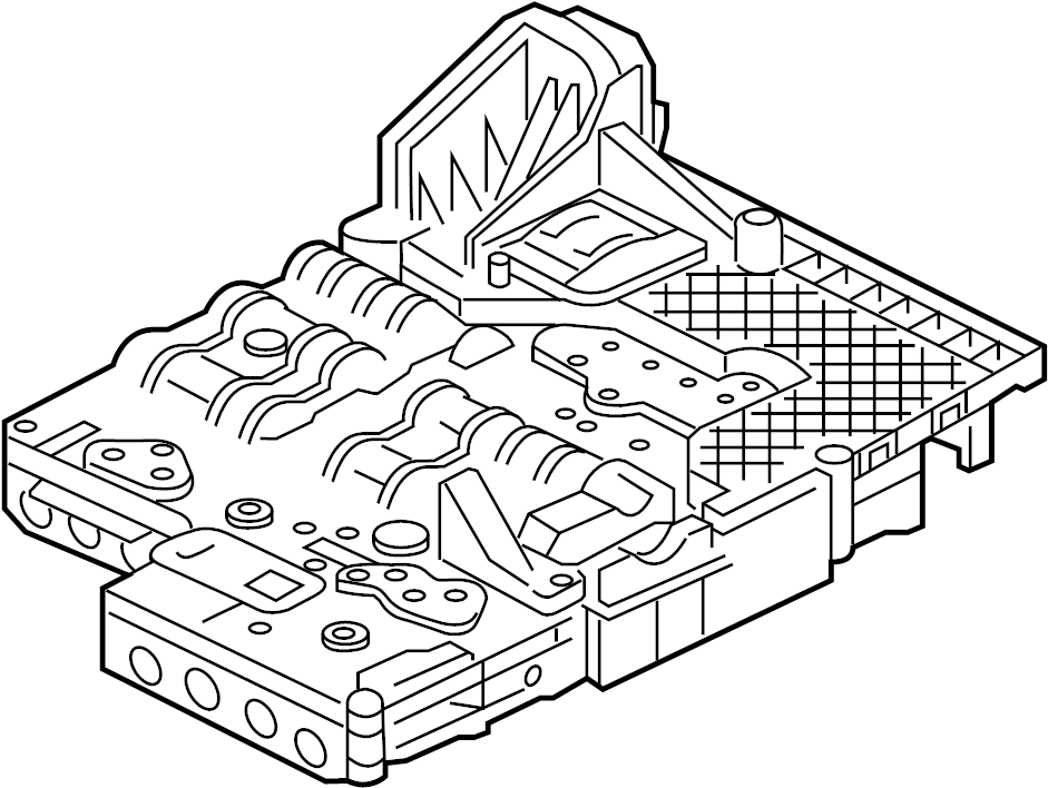 Jaguar XJ Automatic Transmission Valve Body. Control