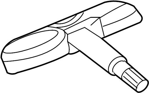 Jaguar XKR Wheel Lug Nut. WheelS, Rear, Front