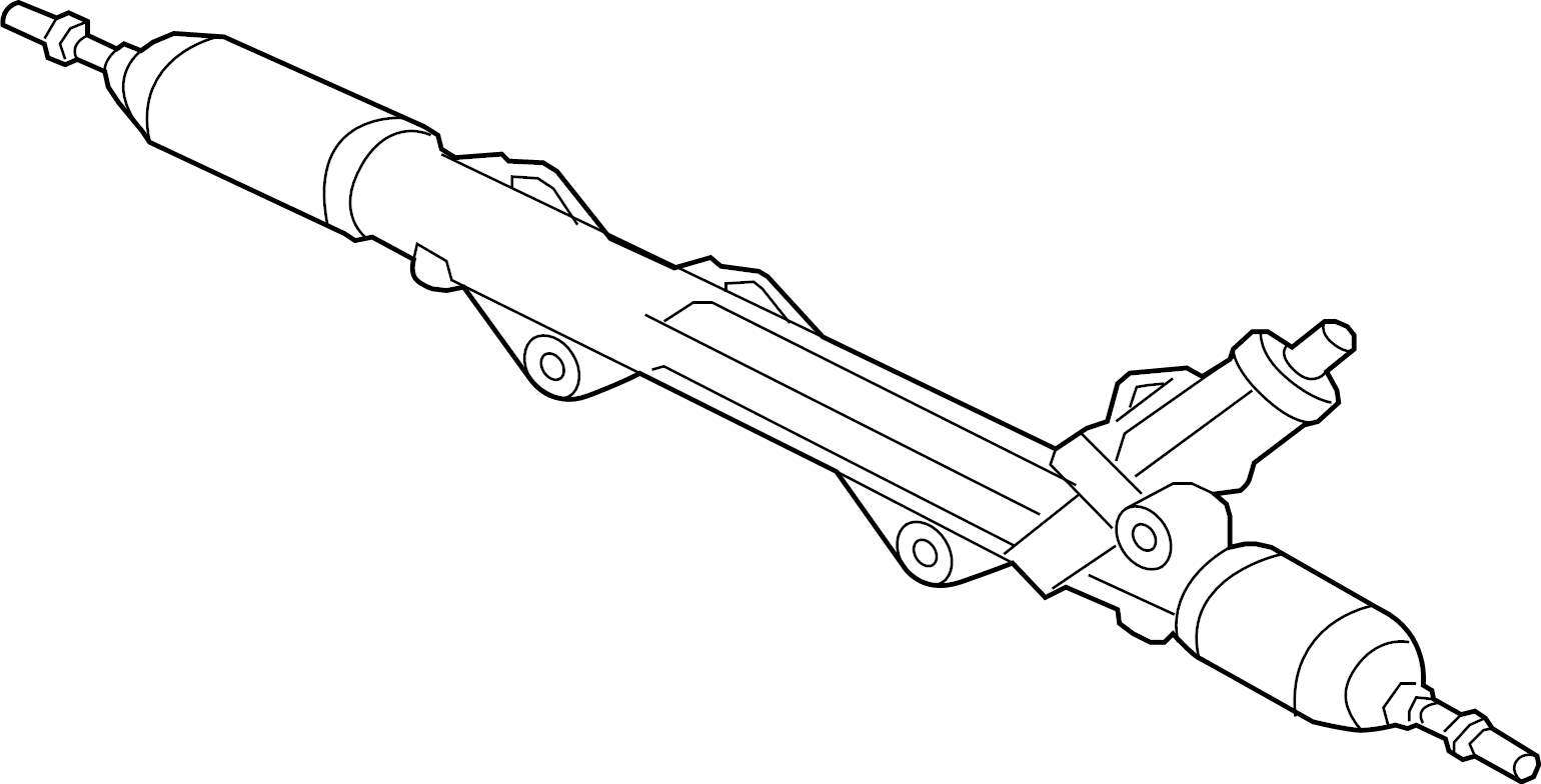 Jaguar Xkr S Rack And Pinion Assembly Steering Gear