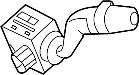 Jaguar Vanden Plas Combination Switch. Turn, Signal