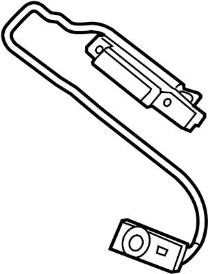 Jaguar F-Type Electronic Parking Brake Control Switch