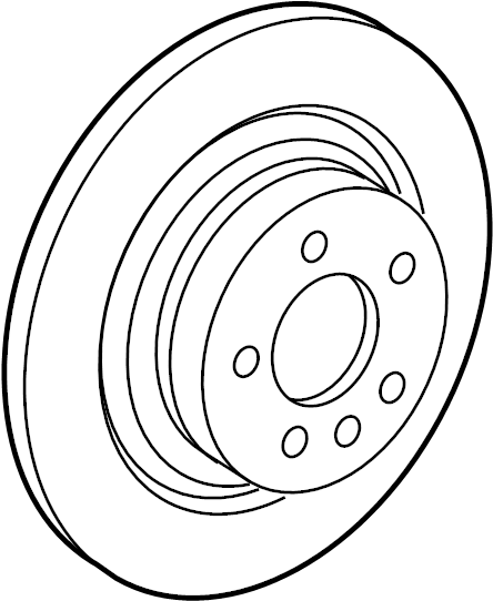 Jaguar F-Type Disc Brake Rotor. Rotor. Rear; Ceramic
