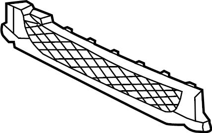 Jaguar XE Valance Panel (Lower). W/O R-SPORT, W/O XE S. W