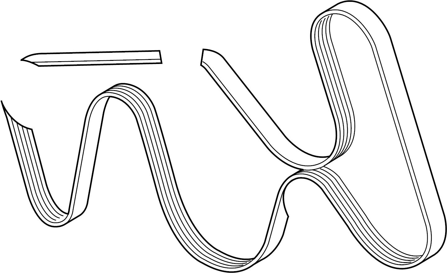 Jaguar Xf Serpentine Belt