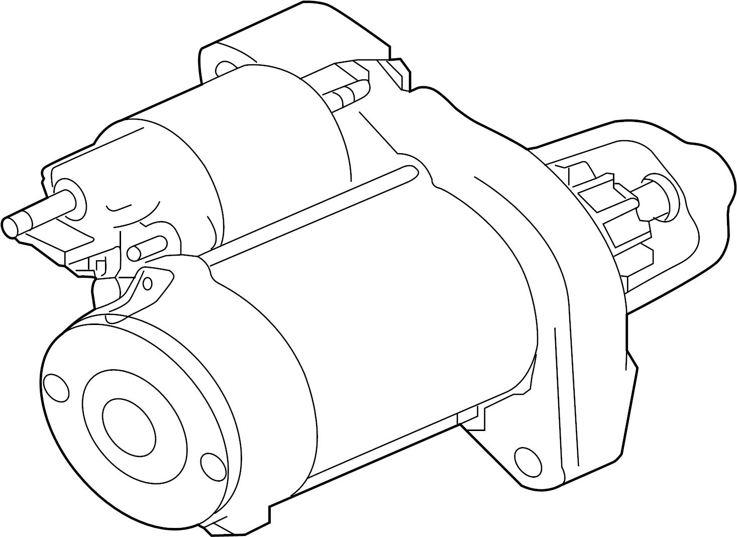 Jaguar F-Type Starter Motor. StartStop, WSTARTSTOP