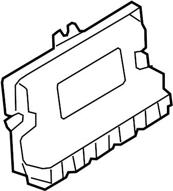 Jaguar F-Type Active Suspension Control Module. Hght