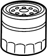 Jaguar XF Filter element. FILTER-OIL. Oil filter. 2.0