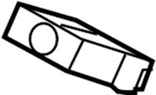 Jaguar XF Clip-pipe. Line clip. Tube assy clip. Vapor hose