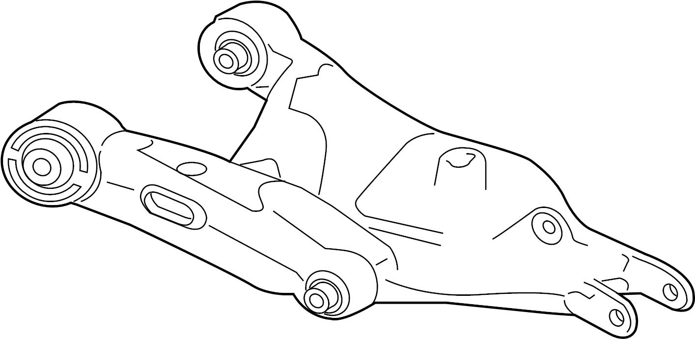 Jaguar XF Suspension Control Arm. Hght, Saloon, Sportbrake