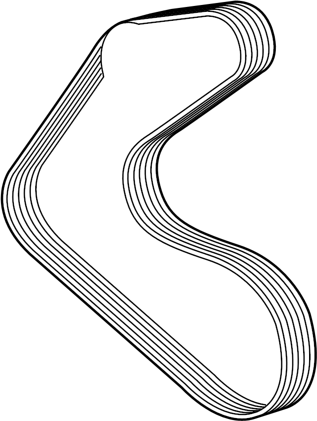 Jaguar F-Type Belt. Drive. Accessory. Serpentine