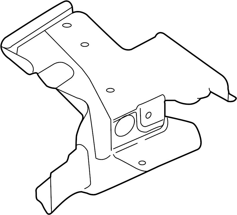Jaguar XF Heat. Shield. Exhaust. Manifold. Turbocharger