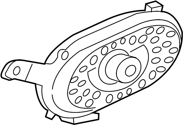 Jaguar F-Pace Speaker. Woofer. WATT, SYSTEM, SOUND