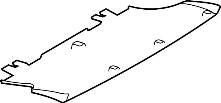 Jaguar F-Pace Valance Panel (Rear, Lower). Hitch, Tow