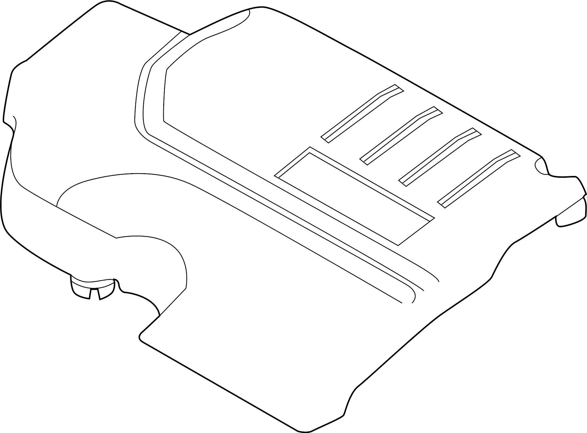 Jaguar E Pace Engine Cover Cover