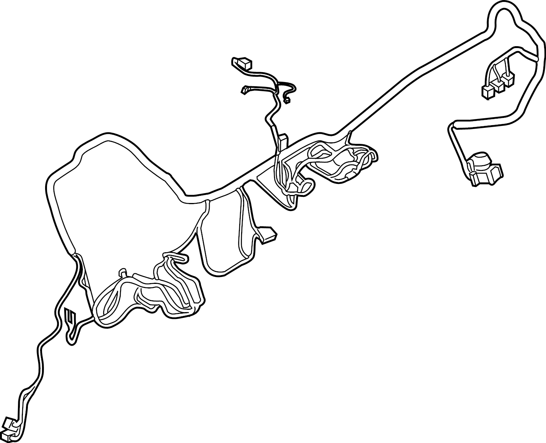 Jaguar I Pace Instrument Panel Wiring Harness Instrument