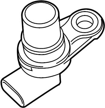 Jaguar XF Engine Camshaft Position Sensor. Repair, Cause