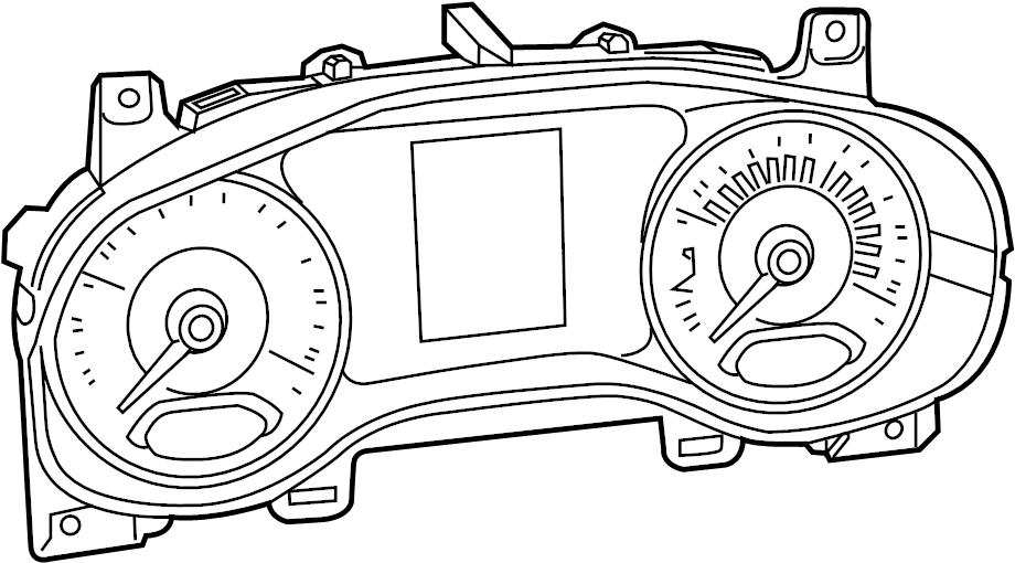 Jaguar Vanden Plas Combination Switch. Power, Adjust, Turn