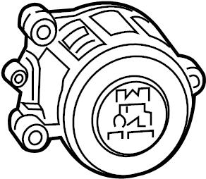Jaguar XJ6 Ignition Switch. Steering, Make, Column