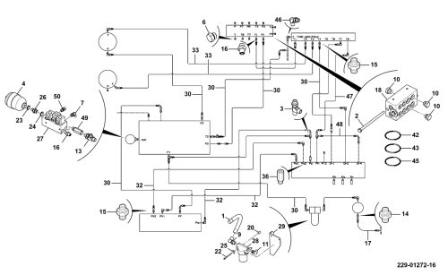 small resolution of hydraulic circuit installation assemblies pressure pilot line
