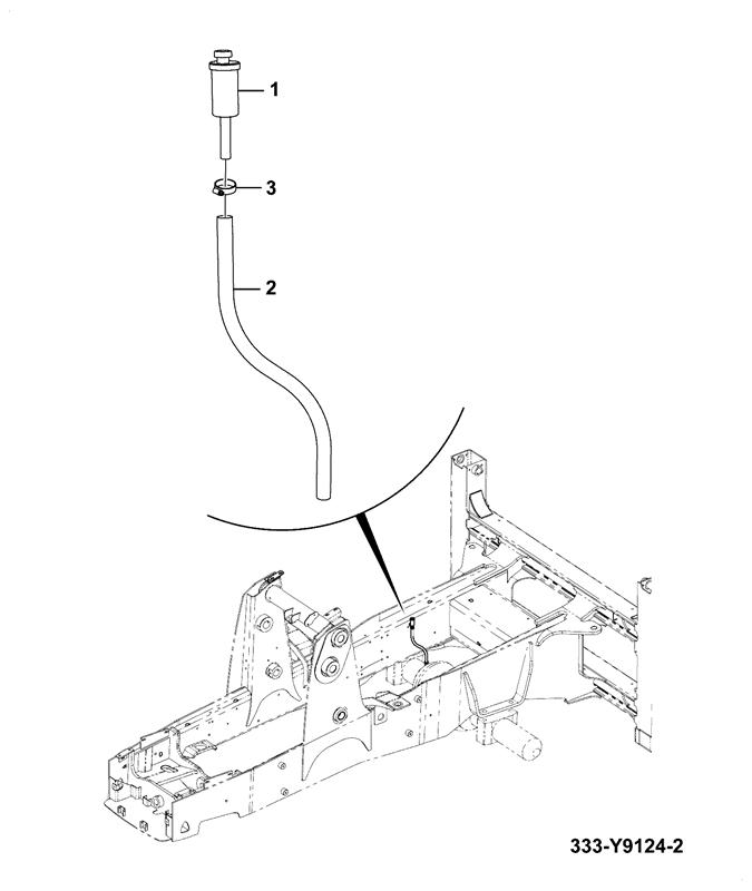 3CX 92HP 14'FT EXCAVATOR TIER 2, 4WD MANUAL Spare Parts