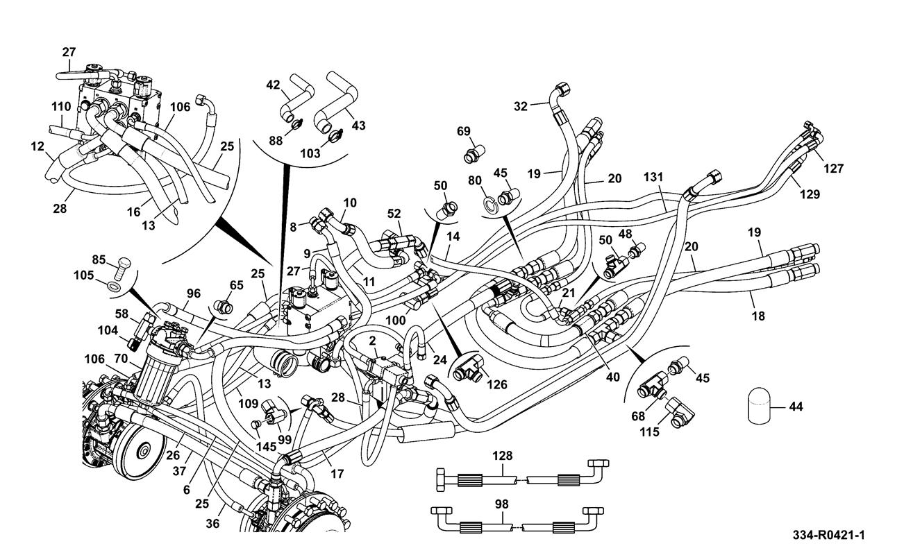 hight resolution of hydraulic circuit installation assemblies tlt 35d 4wd neutral hydraulics
