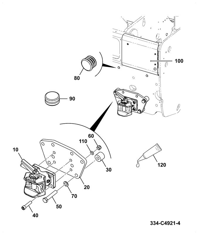 525-60 [T4i Engine] / 505-20TC Spare Parts
