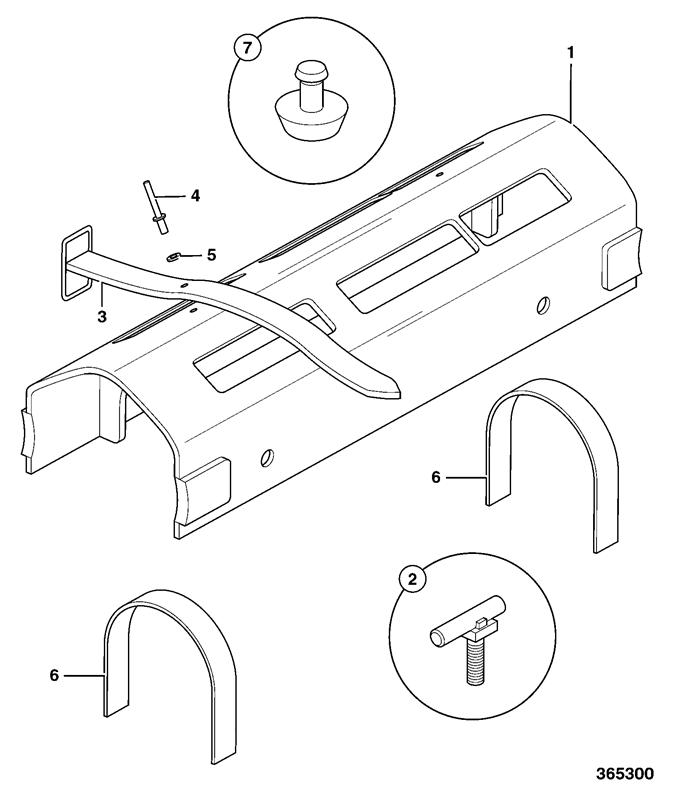 540-170 Spare Parts