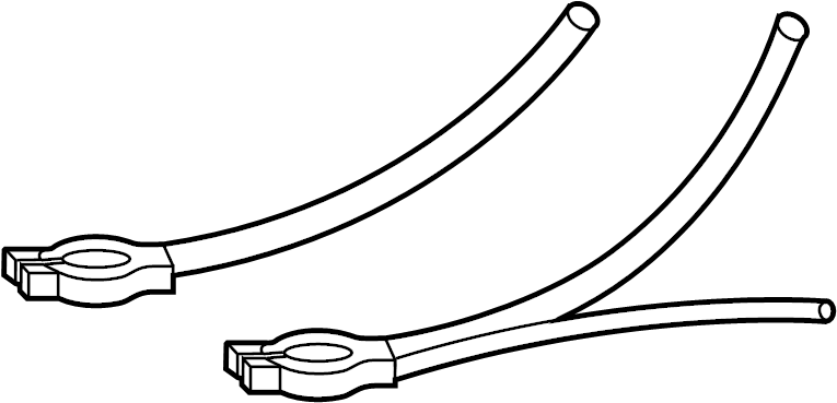 Toyota Land Cruiser Battery Cable Harness. Wire, Engine