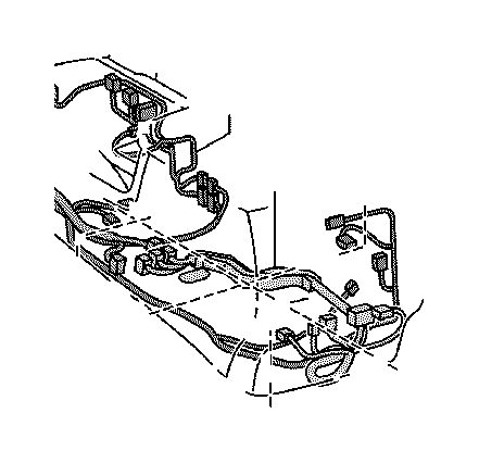 Toyota Land Cruiser Wire, switch. Connector, engine, panel