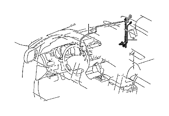 Toyota Tacoma Cord sub-assembly, antenna. Electrical